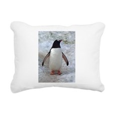 Adult Penguin Rectangular Canvas Pillow