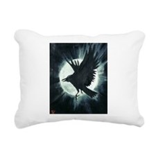 The Raven Rectangular Canvas Pillow