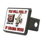 BUBBA CLINTON Rectangular Hitch Cover