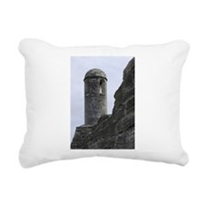 San Marco Tower Rectangular Canvas Pillow