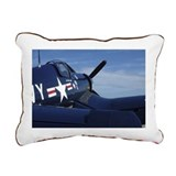 F4U Corsair Rectangular Canvas Pillow