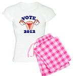 Uterus 2012 Women's Light Pajamas