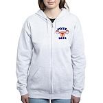 Uterus 2012 Women's Zip Hoodie