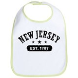 New Jersey Est. 1787 Bib