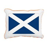 Scottish Flag Rectangular Canvas Pillow