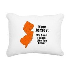Cute New jersey Rectangular Canvas Pillow