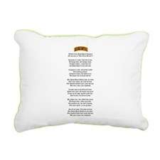 PP Ranger Creed Rectangular Canvas Pillow