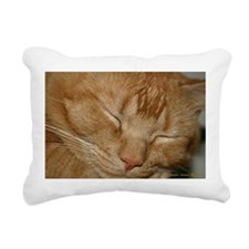 Unique Cat face Rectangular Canvas Pillow
