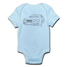 Car Outline Infant Bodysuit