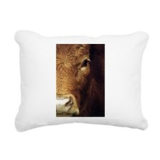 Cow Rectangular Canvas Pillow