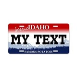 Scenic Idaho - Famous Potatoes License Plate