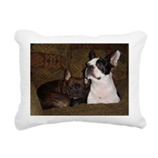 Best Buds Rectangular Canvas Pillow