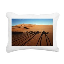 Moroccan Rectangular Canvas Pillow