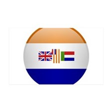 SA republic button Wall Decal