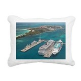 Cruise Ships - Rectangular Canvas Pillow