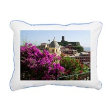 Le Cinque Terre Rectangular Canvas Pillow