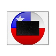 Chile Button Picture Frame