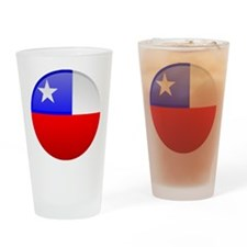 Chile Button Drinking Glass