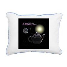 Teapot Rectangular Canvas Pillow