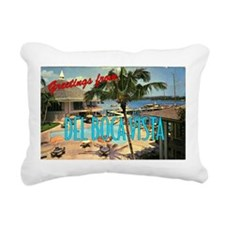 """Del Boca Vista"" Rectangular Canvas Pillow"