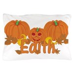 Halloween Pumpkin Edith Pillow Case