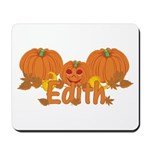 Halloween Pumpkin Edith Mousepad