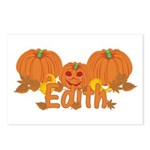 Halloween Pumpkin Edith Postcards (Package of 8)