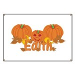 Halloween Pumpkin Edith Banner