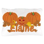 Halloween Pumpkin Elaine Pillow Case