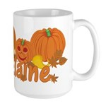 Halloween Pumpkin Elaine Large Mug
