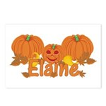 Halloween Pumpkin Elaine Postcards (Package of 8)