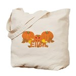 Halloween Pumpkin Ellen Tote Bag