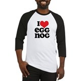 Retro I Love Egg Nog Baseball Jersey