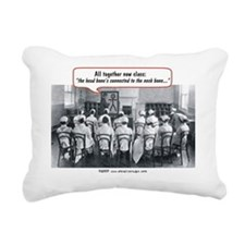 All Together Now Nurses Rectangular Canvas Pillow