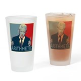 Bill Clinton - Arithmetic Drinking Glass