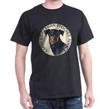 German Pinscher Addict Black T-Shirt