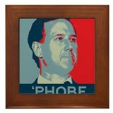 Rick Santorum - 'Phobe Framed Tile