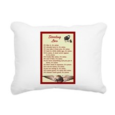 Starling Law Rectangular Canvas Pillow