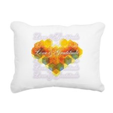 Love & Gratitude Rectangular Canvas Pillow