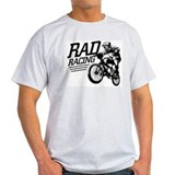 Retro RAD BMX Racing Ash Grey T-Shirt