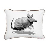 Cute Armadillo Rectangular Canvas Pillow