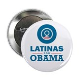 "Latinas for Obama 2.25"" Button"