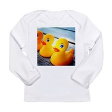 Rubber Ducky Long Sleeve Infant T-Shirt