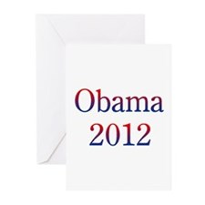 Obama2012 Greeting Cards (Pk of 10)