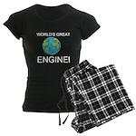 Worlds Greatest Engineer Women's Dark Pajamas