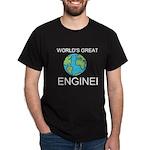 Worlds Greatest Engineer Dark T-Shirt