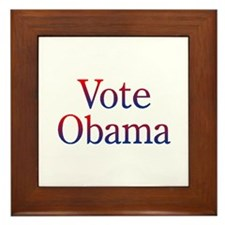Obama 2012 Framed Tile