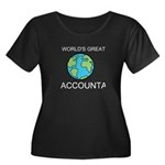 Worlds Greatest Accountant Women's Plus Size Scoop