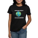 Worlds Greatest Accountant Women's Dark T-Shirt