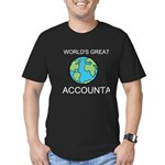 Worlds Greatest Accountant Men's Fitted T-Shirt (d